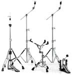 Kit de Ferragens Mapex HP6005 Mars Series 600 com Hihat, 2 Girafas, Est. Caixa e Pedal
