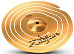 "Spiral Stacker Zildjian 12"" Prato de Efeito Cortado em Espiral"