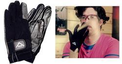 Luvas Protetoras Vater VDGL Drumming Gloves Grande evita calos e baqueta escorregadia