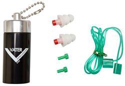 Protetor de Ouvido Vater VSAS Ear Plugs Kit com Filtros Ajustáveis e Case