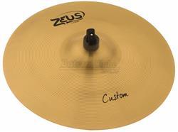 """Crash Zeus Custom Series Traditional 16"""" em Bronze B20 ZCC16"""