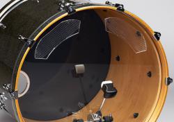 Abafador de Bumbo Ahead ABDD Pro Kick Bass Drum Damping Moderador de Harmônicos e Ressonância