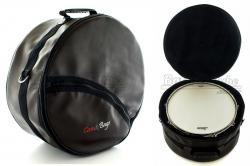 """Bag de Caixa Case & Bags Marrom em Eco Couro Sintético para Caixas 14"""" até 8"""" de Profundidade"""