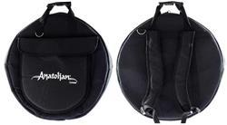 """Bag de Pratos Anatolian Cymbals Lux Cymbal Bag Padrão Top com Alça de Mochila e Pratos até 22"""""""