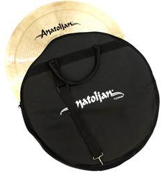 """Bag de Pratos Anatolian Cymbals Standard Cymbal Bag com Alça de Ombro e Pratos até 21"""""""