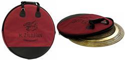 """Bag de Pratos Zildjian Constantinople P0726 Cymbal Bag para Pratos até 22"""" Acabamento Luxuoso"""