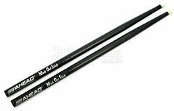 Baqueta Ahead Drumsticks Work Out Stick WOS para Estudo Mais Pesada que 2B e Base de Alumínio
