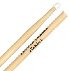 Baqueta Liverpool Electro Drums (Padrão 5A Comprida) ELD5AN Ponta de Nylon para Bateria Eletrônica
