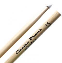 Baqueta Liverpool Electro Drums (Padrão 7A) ELD7AN Ponta de Nylon Especial para Bateria Eletrônica
