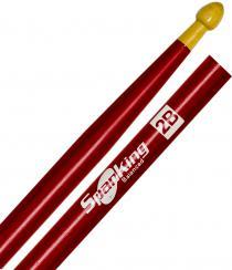 Baqueta Spanking Linha Colorida 2B Clássica Vermelha (4050VM)