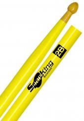 Baqueta Spanking Linha Luminosa 2B Clássica Amarela Fluorescente (4115AM)