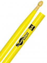 Baqueta Spanking Linha Luminosa 5A Clássica Amarela Fluorescente (4113AM)