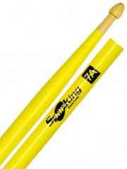 Baqueta Spanking Linha Luminosa 7A Clássica Amarela Fluorescente (4116AM)