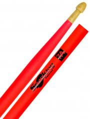 Baqueta Spanking Linha Luminosa 7A Clássica Rosa Fluorescente (4116RS)