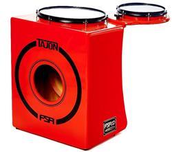 Bateria Cajón FSA Tajon Bass Limited Edition FLE12 Laranja Mini Bateria Cajón Kit Compacto