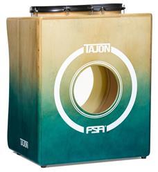 Bateria Cajón FSA Tajon Master TAJ21 Verde e Natural Mini Bateria Cajón Kit Compacto