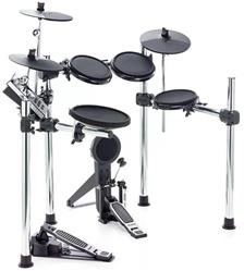 Bateria Eletrônica Alesis Forge Kit com Pads Dual Zone, Módulo 600 sons, Pedal Single, Rack Top