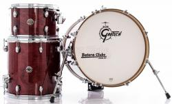 "Bateria Gretsch Catalina Club Jazz Rosewood Lacquer com Bumbo 18"" e 1 tom (Shell Pack)"