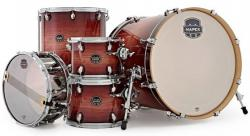 "Bateria Mapex Armory Studioease Maple Birch AR628SFU Redwood Burst 22"",10"",12"",14"",16"" (Shell Pack)"