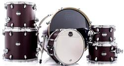 """Bateria Mapex Mars Crossover Plus MA528SF Bloodwood 22"""",10"""",12"""",14"""",16"""" Caixa 14x6,5"""" (Shell Pack)"""