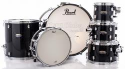"Bateria Pearl Decade Maple Black Ice Lacquer 20"",8"",10"",12"",14"" (Shell Pack)"