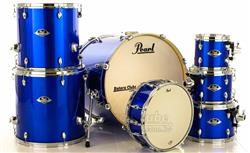 "Bateria Pearl Export EXX Series Mahogany High Voltage Blue 20"",8"",10"",12"",14"",16"" (Shell Pack)"