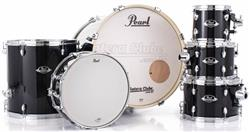 "Bateria Pearl Export EXX Series Mahogany Jet Black 20"",8"",10"",12"",14"" (Shell Pack)"