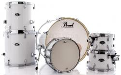 "Bateria Pearl Export EXX Series Mahogany Pure White 20"",10"",12"",14"",16"" (Shell Pack)"