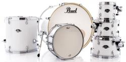 "Bateria Pearl Export EXX Series Mahogany Pure White 20"",8"",10"",12"",14"" (Shell Pack)"