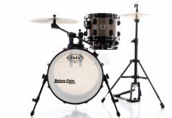 "Bateria RMV Cross Road Fiber Compact Street Brown Wood com Bumbo 16"", Tom e Caixa (Só Tambores)"