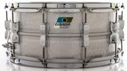 """Caixa Ludwig Acrolite Classic LM405K Aluminum Hammered Shell 14x6,5""""  Made in USA"""