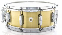 "Caixa Ludwig Heirloom LBR5514 Brass Shell 14x5,5"" Edição Limitada Made in USA"