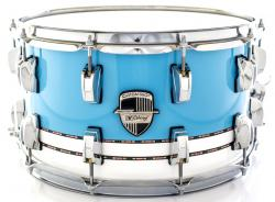 "Caixa Odery Custom-Shop Limited Batera Clube Collection Bianca Baby Blue Inlay 14x8"" em Birch"