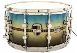 "Caixa Odery Custom-Shop Limited Batera Clube Collection Cecília Blue Angel 14x8"" com Casco 15mm"