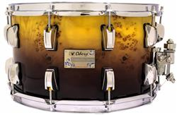 "Caixa Odery Eyedentity Exotic Maple Mappa Burl 14x8"" com Aros PowerHoop 2.3mm"
