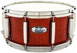 "Caixa Pearl Masters Maple Complete Vermillion Sparkle 14x6,5"" Thin Shell EvenPly-Six"