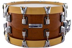 "Caixa Taye Studio Maple Gold Amber 14x7"" com Aros Wood Hoop 14-Ply"