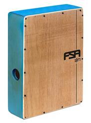 Cajón FSA Slim Series CSL504 Azul Acústico Compacto com Excelente Sonoridade