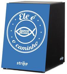 Cajón FSA Strike Series Ele é o Caminho SK4043 Inclinado Acústico com Assento em E.V.A.