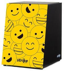 Cajón FSA Strike Series Emoticons SK4041 Inclinado Acústico com Assento em E.V.A.