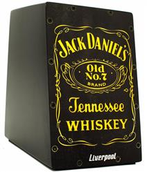 Cajón Mini Liverpool Jack Daniels CAJ-JD Compacto com 20cm de Altura (Crianças ou Adultos)