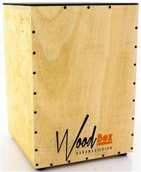 Cajón Wood Box Cashier AC Acústico Reto com Alça de Transporte e Duto Compressor