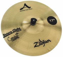 """Capa Protetora para Pratos de 17"""" Cymbal Care Zildjian em Neoprene Lavável (Liquidação)"""