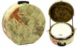 """Case de Caixa KGB Male Fort-Case Bandas Britânicas Caixas de 14"""" Profundidade 4"""" a 6"""""""