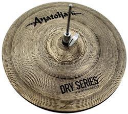 """Chimbal Anatolian Dry Series Regular Hi-hat 16"""" Dark Slot Handmade Turkish"""