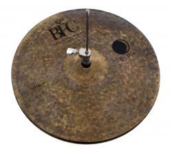 "Chimbal BFC Brazilian Finest Cymbals Dry Dark 14"" DDHH14 em Bronze B20"
