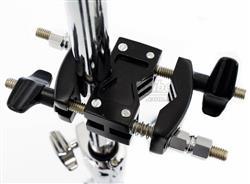Clamp Torelli TA424 Modelo Curto Preto Epoxi com 2 Conexões Multiuso
