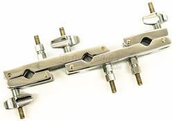 Clamp Torelli TA433 Multiuso com 3 Conexões para fixar Tons e Acessórios Diversos