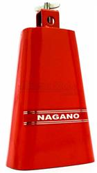 """Cowbell Nagano Red Bell Medium Tamanho Médio 7"""" CSU-0001 com Timbre Médio Agudo"""