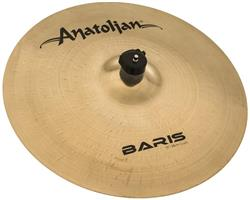 "Crash Anatolian Baris Brilliant 15"" Handmade Turkish"